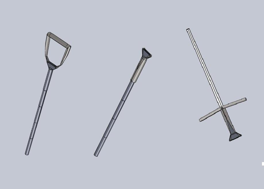 Костыль-трость-меч (образец самопроизвольного изобретательства)