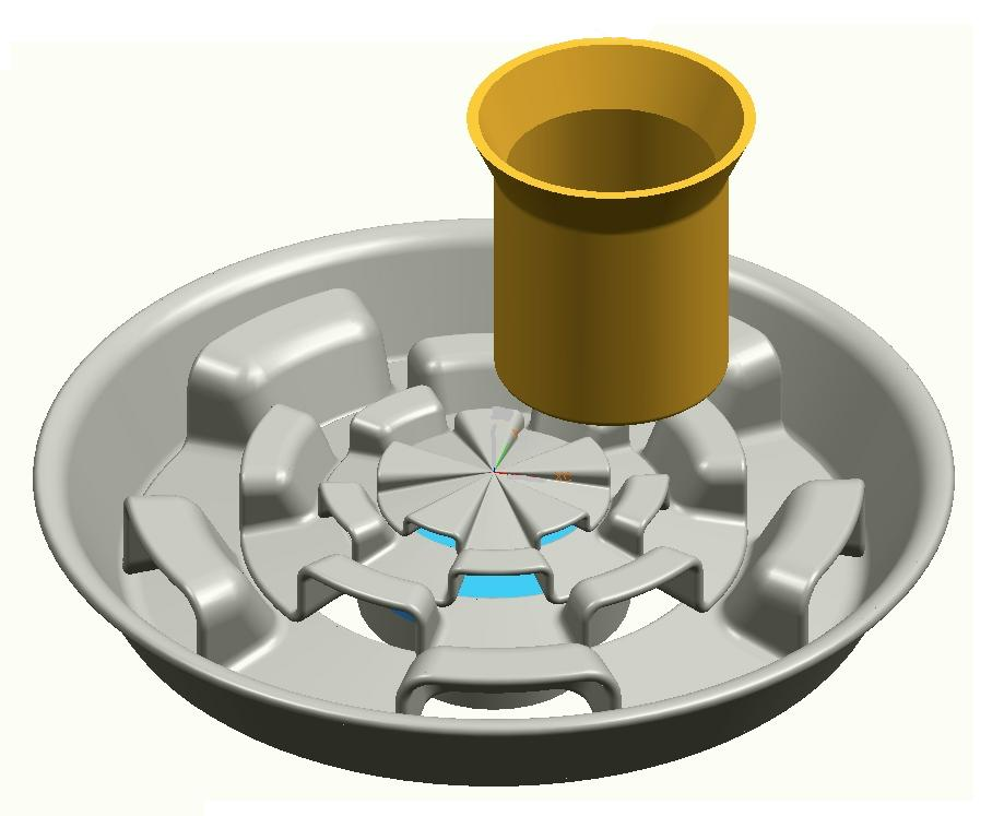 Варочная поверхность газовой плиты (Заявка № 2009124178)