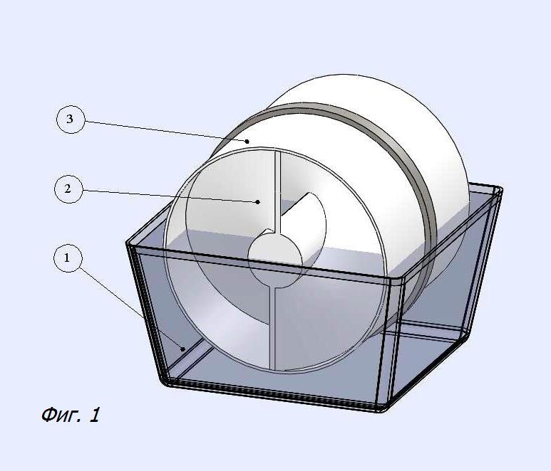 Шнековый вентилятор (Патент RU № 2601910)