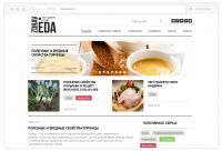 Редизайн сайта - Zdraveda - Все о здоровом питании