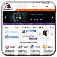 Glacialtech - системы охлаждения и кулеры
