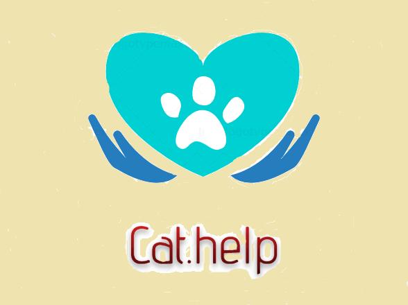 логотип для сайта и группы вк - cat.help фото f_59859dc96700c5b2.png