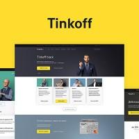 Тинькофф банк - адаптивный дизайн концепт