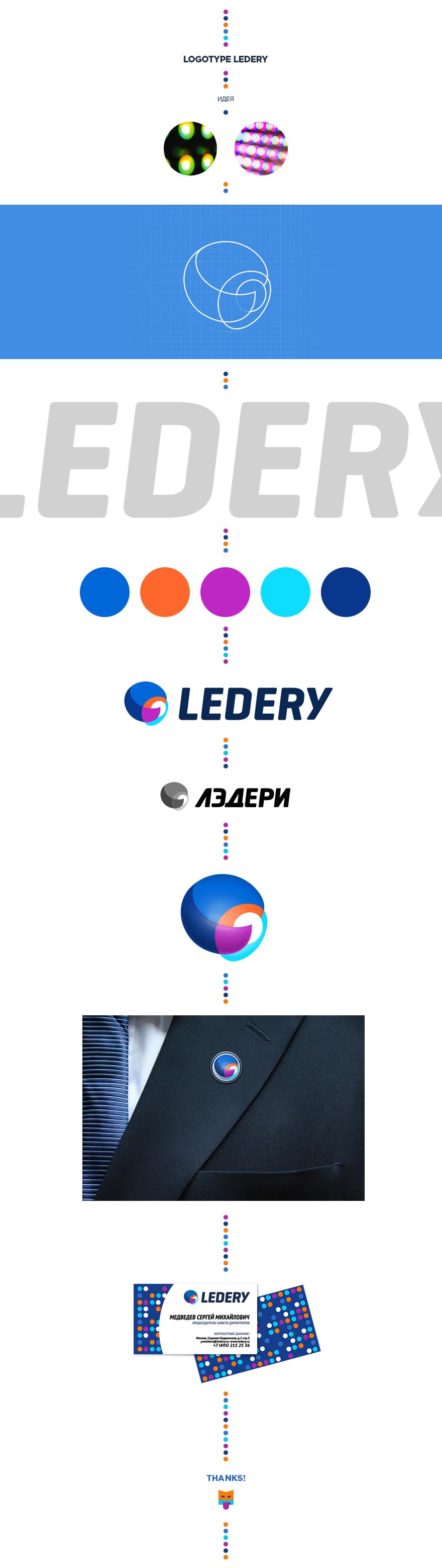 Логотип для компании Ledery