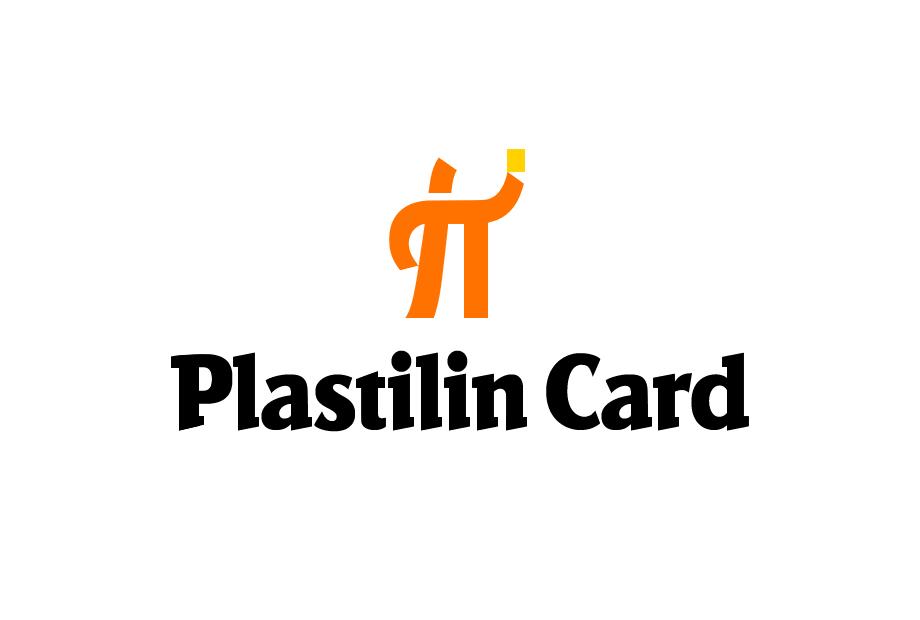 Логотип для кредитной карты «Plastilin Card»