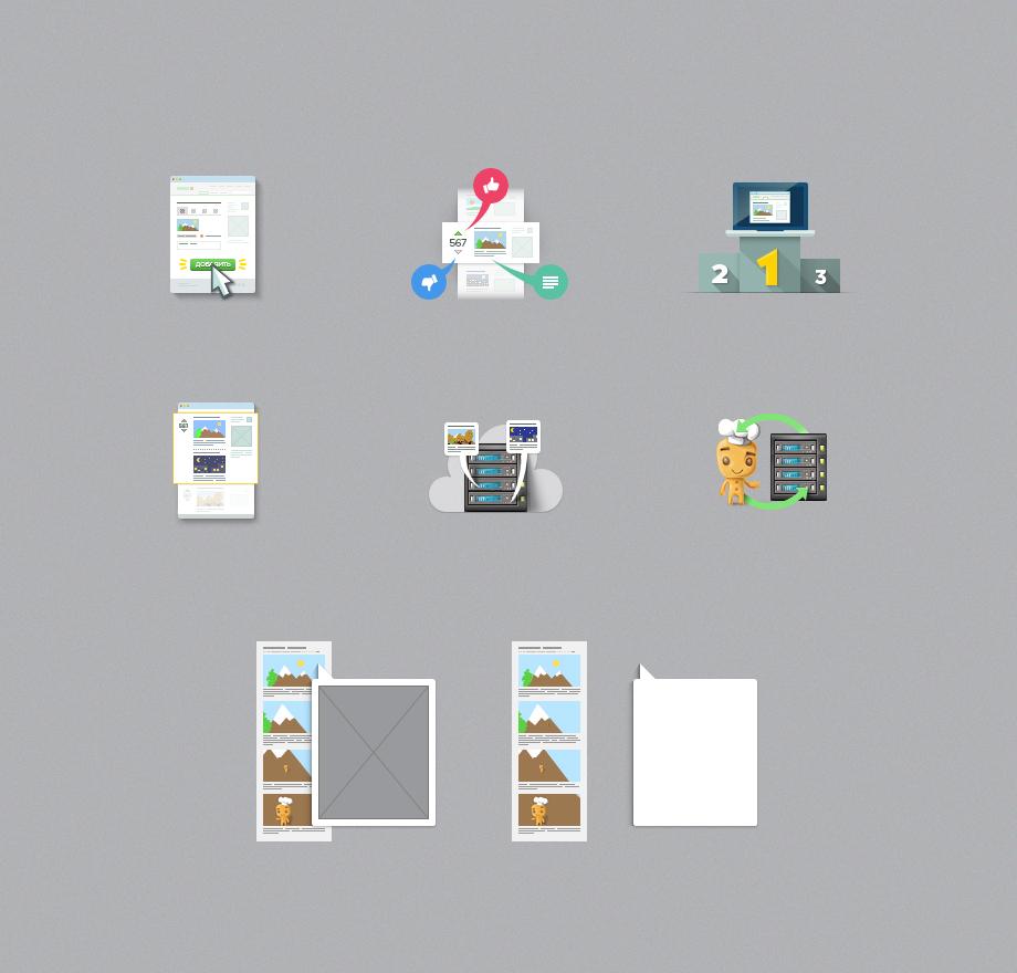 Set icons for pikabu.ru