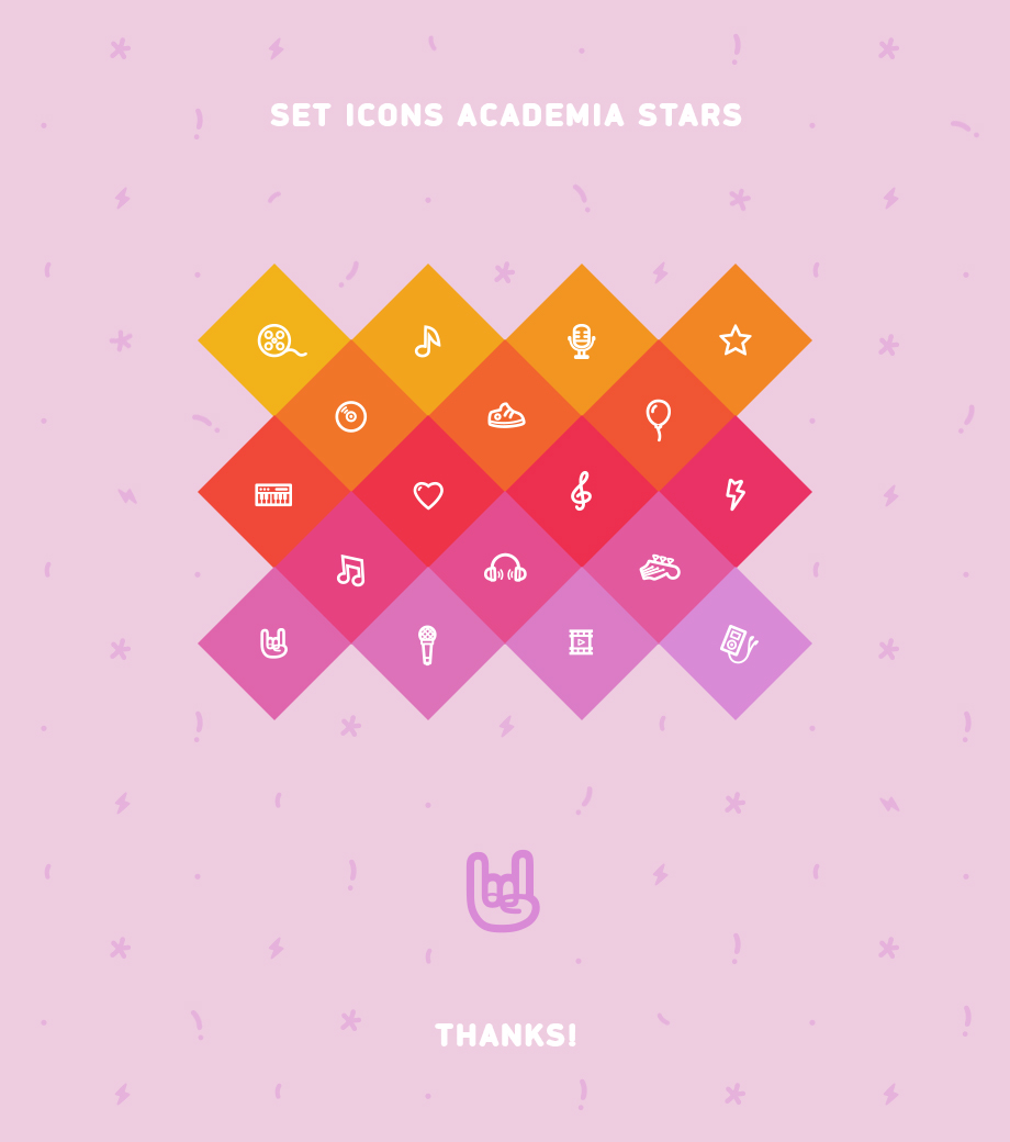 Set icons for Academy Stars