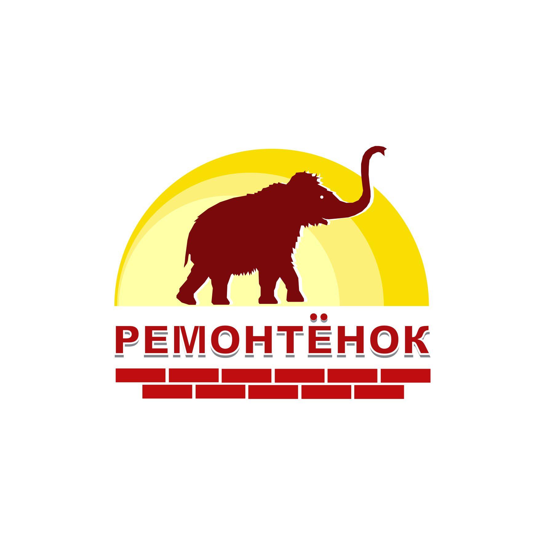 Ремонтёнок: логотип + брэндбук + фирменный стиль фото f_20459594fc35ad49.jpg