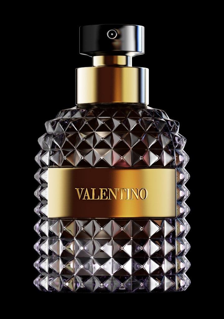 Valentino / Моделирование, текстурирование