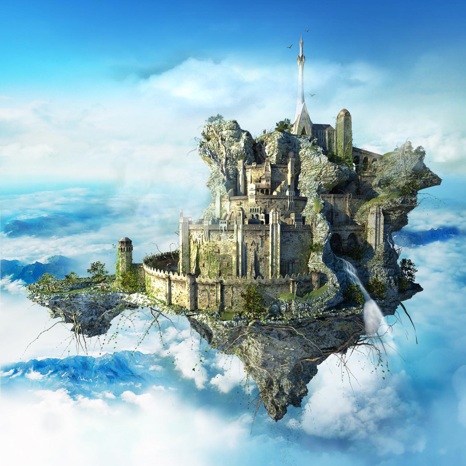 Flying Castle.