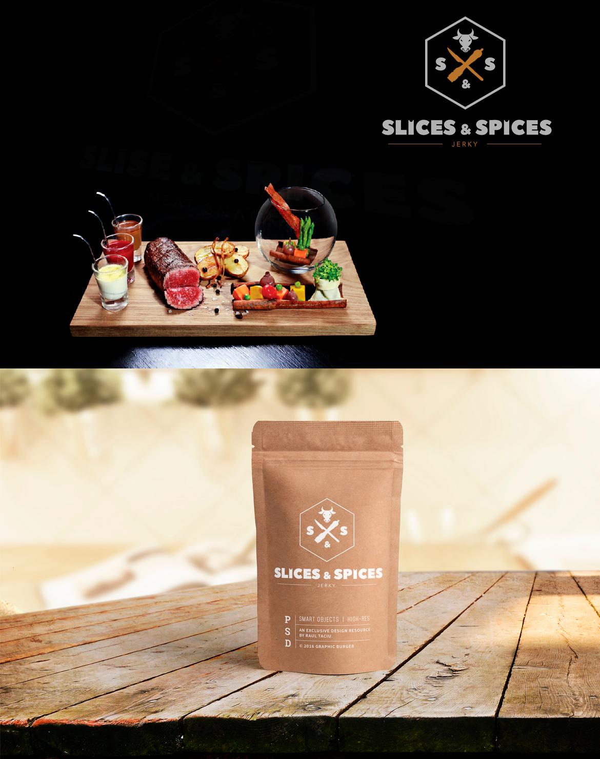 "Продукты ""Slices & Spices"""