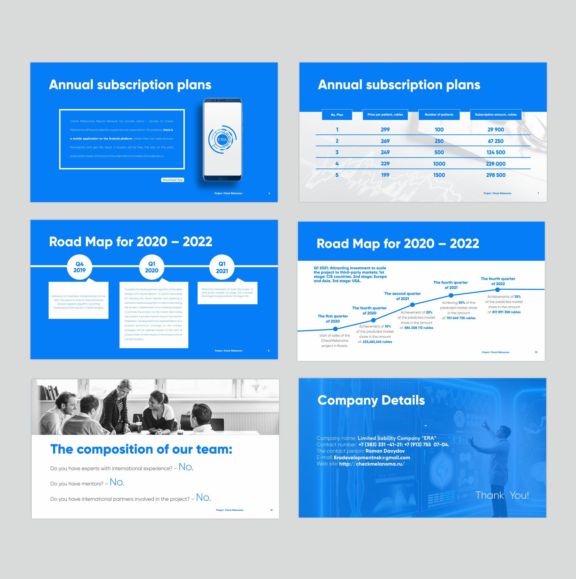 Check melonoma (дизайн презентации для проекта)