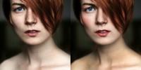 Ретушь портрета (кожи лица)