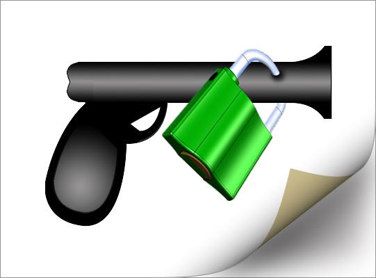 Баннер (пистолет, отрисовка)
