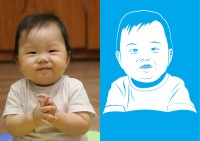 Портрет флип фло (ребенок)