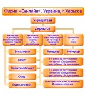 Схема управления фирмой