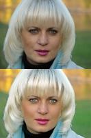 Ретушь портрета (Таня)