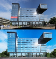 Архитектурный дизайн (панорамное фото)