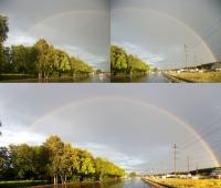 Панорамное фото (радуга)