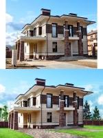 Архитектурный дизайн (коттедж)