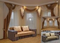 Визуализаци интерьера (диван)