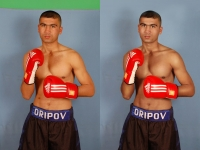 Обработка фото (боксёр)