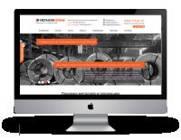 Сайт металлопромышленной компании
