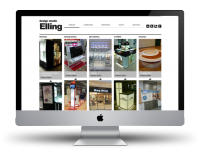Разработка сайта портфолио elling-ltd.ru
