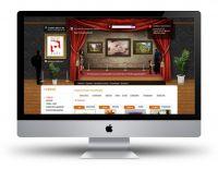 Сайт компаний Постерлайн (постеры и репродукции)
