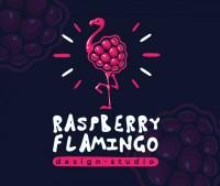 Raspberry flamingo