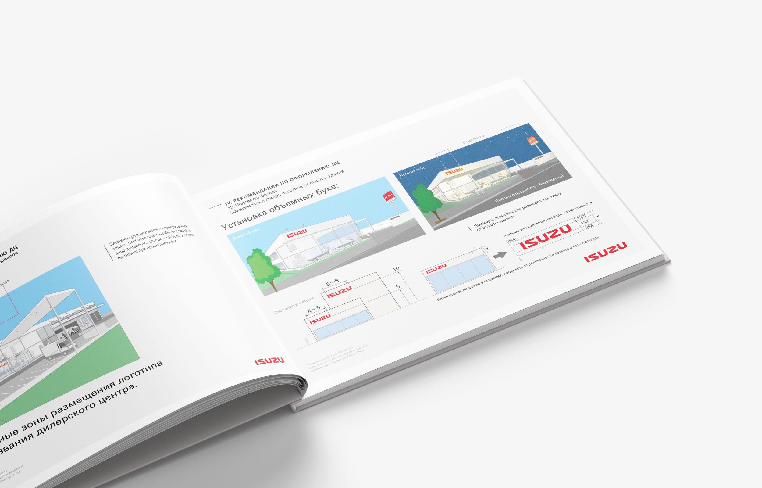 Редизайн брендбука ISUZU (A4, Ai, PDF, 40 стр.)