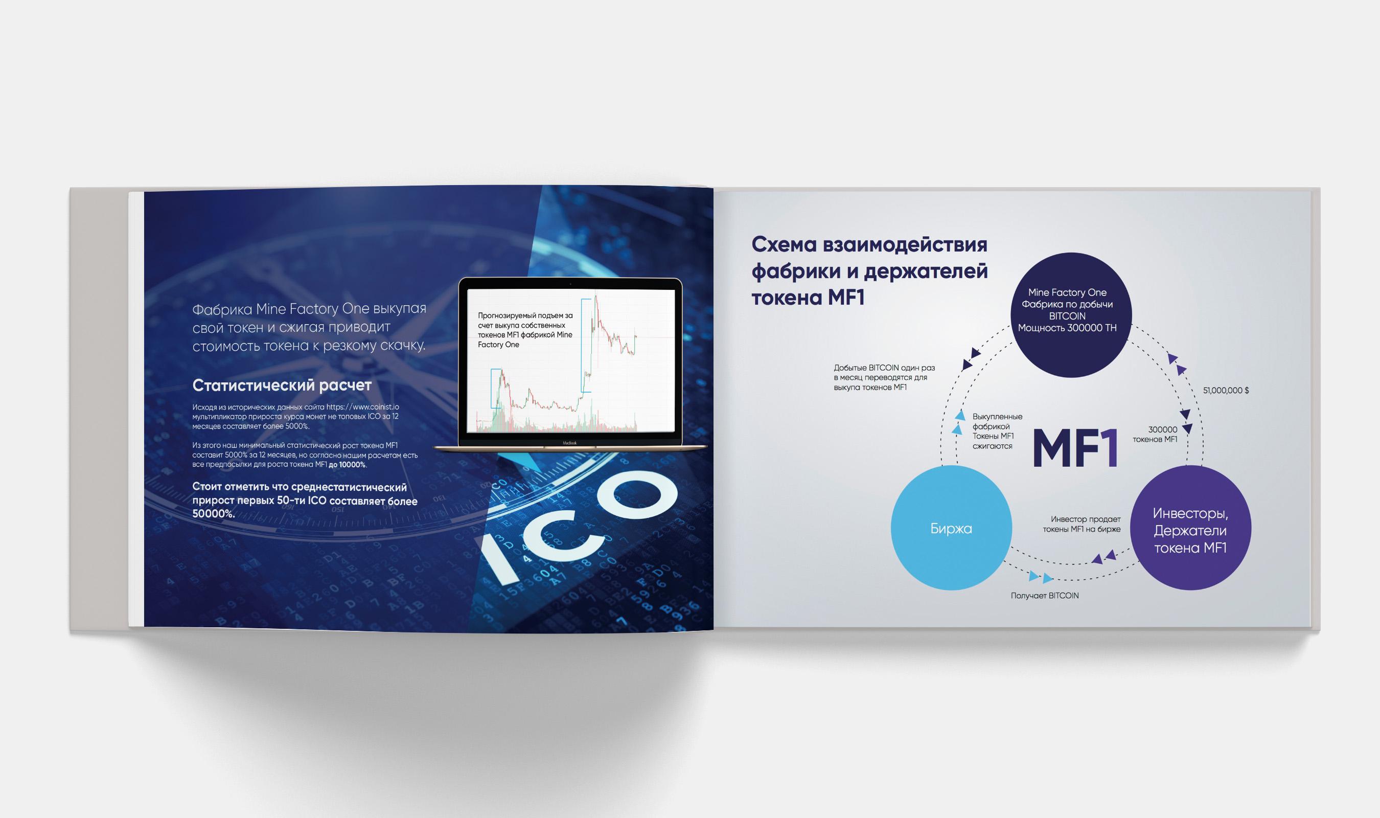 Презентация ICO Майнинг Фабрики (A4, Ai, PDF) RUS/ENG