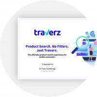 Разработка pitch deck для Traverz