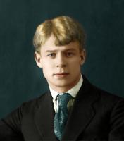 Сергей Есенин (Sergei Yesenin) раскрашенное фото