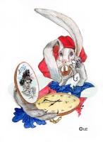 кролик опаздывает
