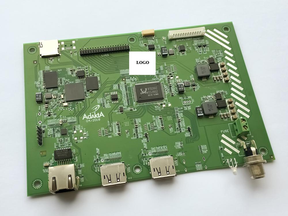 Видеоконтроллер промышленного дисплея 2DisplayPort-LVDS (ПО)