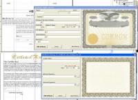 Заполнение сертификатов (CorelDraw)
