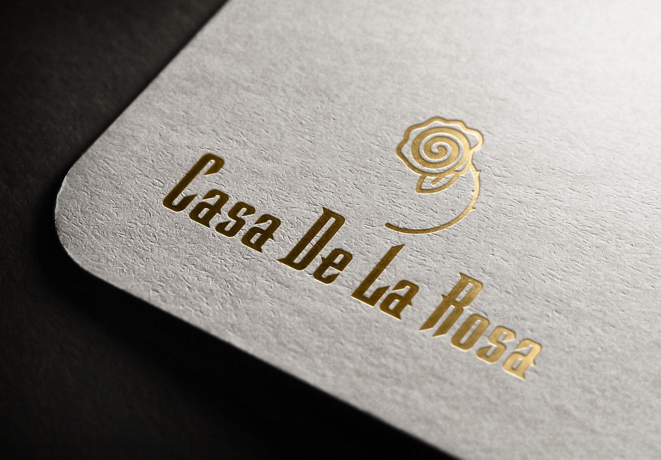 Логотип + Фирменный знак для элитного поселка Casa De La Rosa фото f_0325cd5737abf19e.jpg