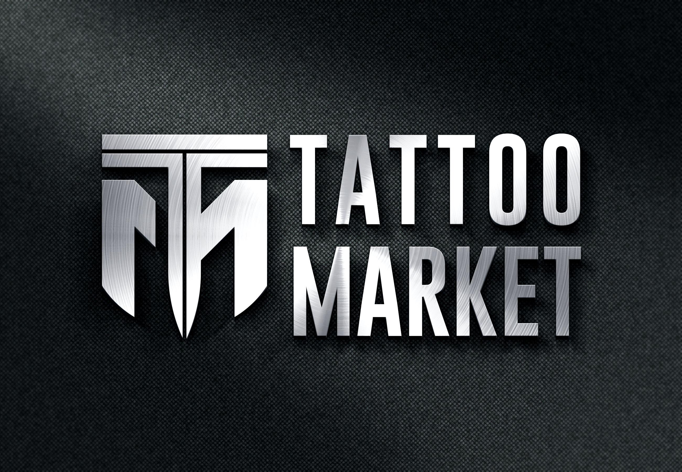 Редизайн логотипа магазина тату оборудования TattooMarket.ru фото f_6775c3e572035e1f.jpg