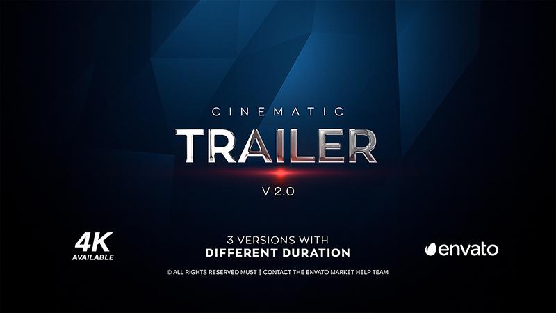 Cinematic Trailer 4K