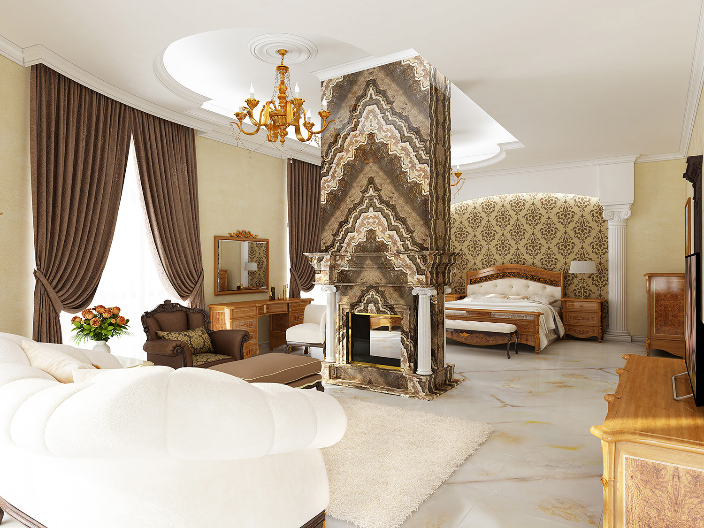 Резиденция спальня