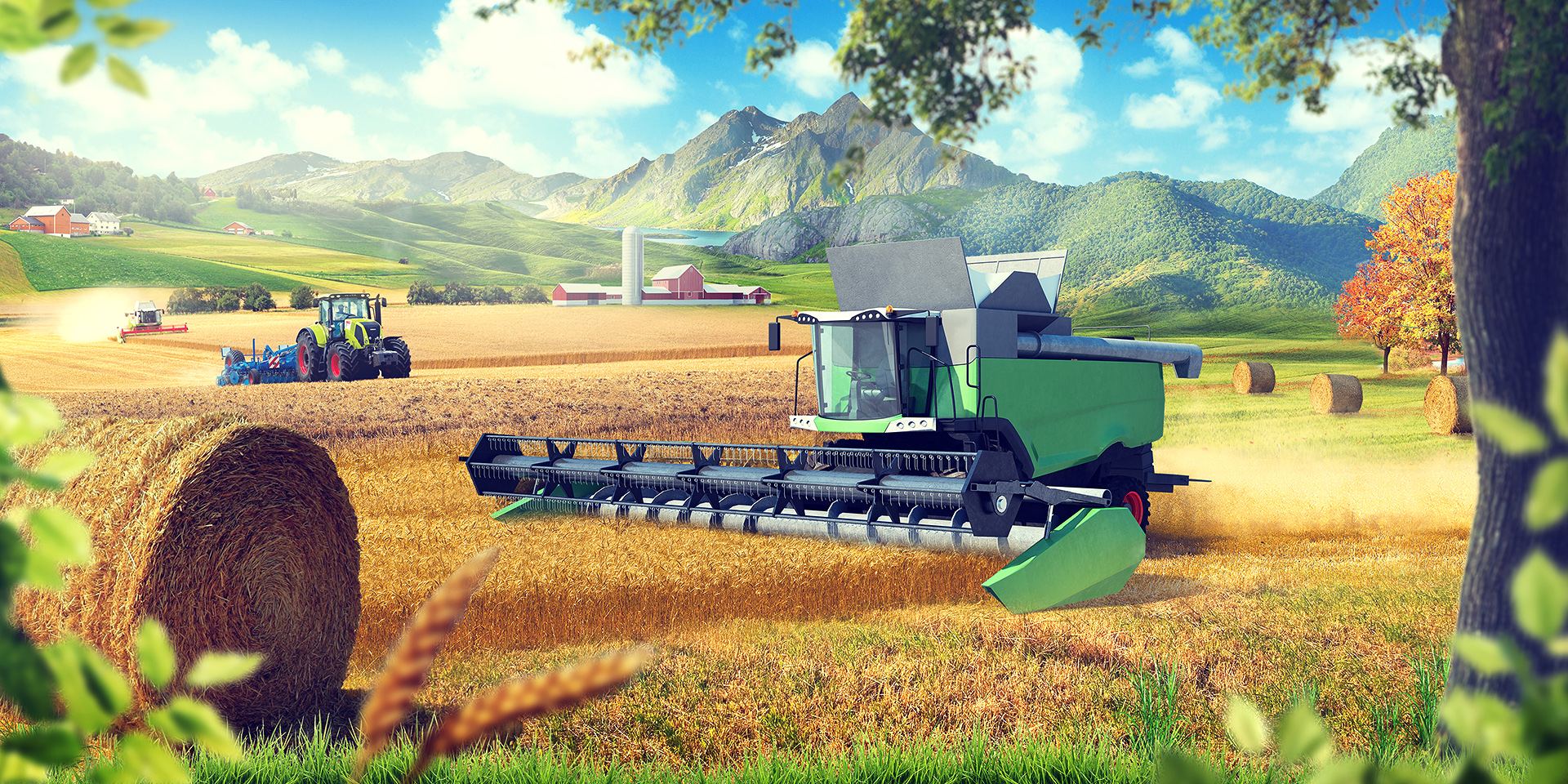 Сельхозтехника баннер 3x6 м