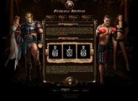 Gladiator Studio - дизайн промо-сайта