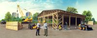 Строительство деревянных конструкций
