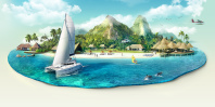 """""""Острова"""" графика для сайта"""