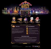 Дизайн сайта интернет казино
