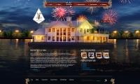Пять Якорей дизайн промо сайта