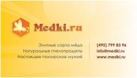 "Визитная карточка ""Medki.ru"""