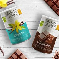 "Дизайн упаковки ""Make Shake"""