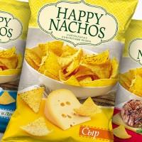 """Дизайн упаковки чипсов """"Happy Nachos"""""""